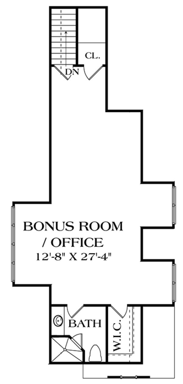 Craftsman Floor Plan - Other Floor Plan Plan #453-633
