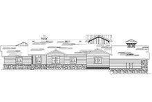 Craftsman Exterior - Rear Elevation Plan #5-371