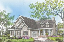 Dream House Plan - Country Exterior - Front Elevation Plan #929-620