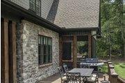 European Style House Plan - 5 Beds 4 Baths 4221 Sq/Ft Plan #929-855 Exterior - Outdoor Living
