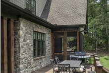 European Exterior - Outdoor Living Plan #929-855
