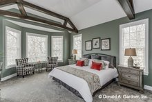 Home Plan - Country Interior - Master Bedroom Plan #929-522