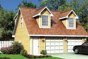 Colonial Style House Plan - 1 Beds 1 Baths 544 Sq/Ft Plan #312-752 Exterior - Front Elevation