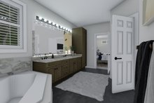 Mediterranean Interior - Bathroom Plan #1060-29