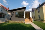 Modern Style House Plan - 2 Beds 2 Baths 1441 Sq/Ft Plan #909-6 Exterior - Front Elevation