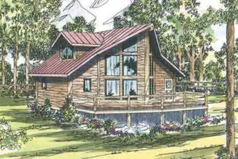 Dream House Plan - Contemporary Exterior - Front Elevation Plan #124-439