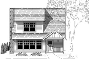 Traditional Exterior - Front Elevation Plan #423-10