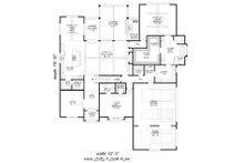 Country Floor Plan - Main Floor Plan Plan #932-122