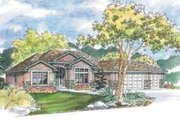 Traditional Style House Plan - 4 Beds 2 Baths 2326 Sq/Ft Plan #124-467 Exterior - Front Elevation