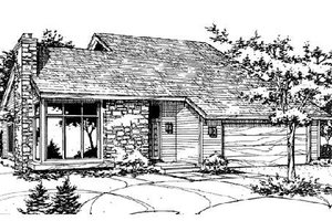 Traditional Exterior - Front Elevation Plan #320-309