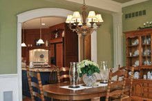 Tudor Interior - Dining Room Plan #928-27