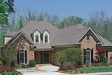 House Plan Design - Traditional Exterior - Front Elevation Plan #453-290
