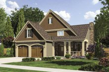 Traditional Exterior - Front Elevation Plan #509-322
