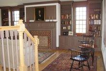House Plan Design - Colonial Interior - Family Room Plan #137-342
