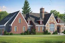House Plan Design - European Exterior - Front Elevation Plan #20-2246