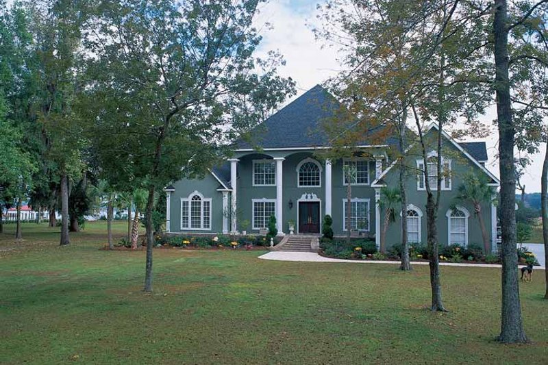 Dream House Plan - Classical Exterior - Front Elevation Plan #37-259
