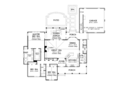 Country Style House Plan - 3 Beds 2.5 Baths 2137 Sq/Ft Plan #929-961 Floor Plan - Main Floor