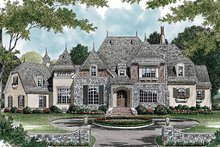 Country Exterior - Front Elevation Plan #453-468