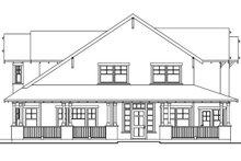 Craftsman Exterior - Other Elevation Plan #124-556