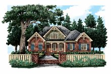 Home Plan - European Exterior - Front Elevation Plan #927-356
