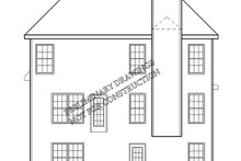 Country Exterior - Rear Elevation Plan #927-711