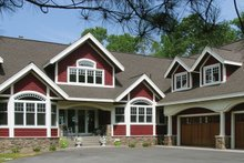 Home Plan - Country Exterior - Front Elevation Plan #320-993