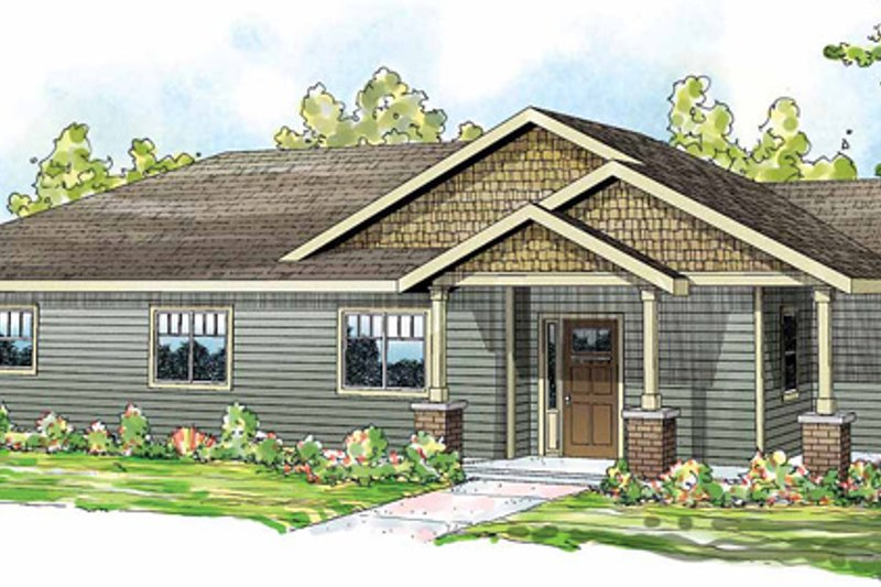 Dream House Plan - Traditional Exterior - Front Elevation Plan #124-851