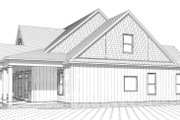 Country Style House Plan - 4 Beds 3 Baths 2565 Sq/Ft Plan #63-271 Exterior - Other Elevation