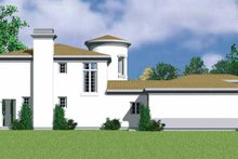 Home Plan - Mediterranean Exterior - Other Elevation Plan #72-1123