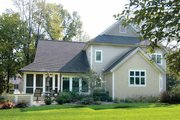 Traditional Style House Plan - 3 Beds 2.5 Baths 2878 Sq/Ft Plan #928-107 Exterior - Rear Elevation