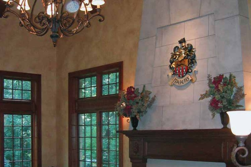 Country Interior - Family Room Plan #928-114 - Houseplans.com