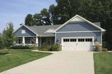 Craftsman Exterior - Front Elevation Plan #928-121