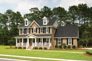 Classical Style House Plan - 4 Beds 3 Baths 2485 Sq/Ft Plan #929-679 Exterior - Front Elevation