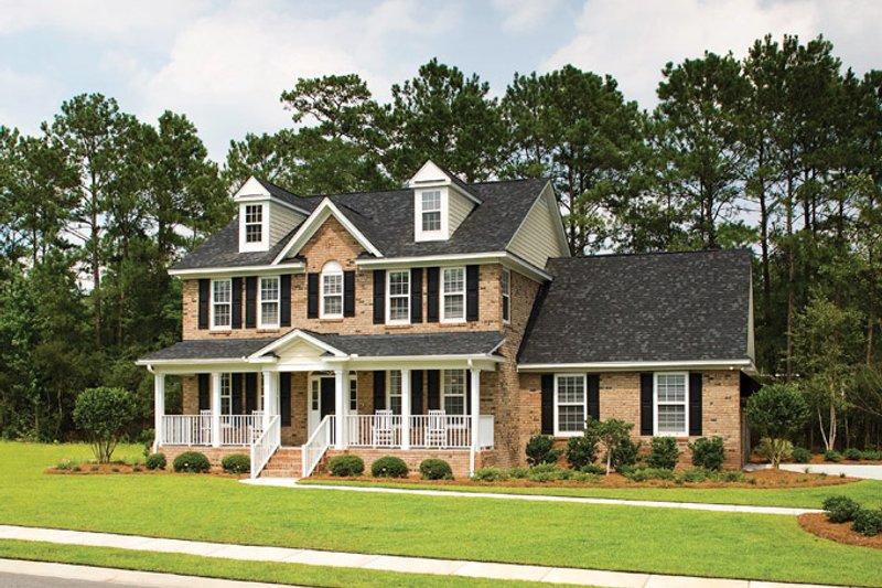 Classical Exterior - Front Elevation Plan #929-679 - Houseplans.com
