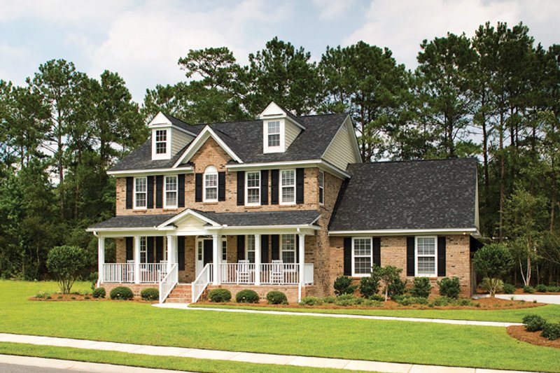 Home Plan - Classical Exterior - Front Elevation Plan #929-679