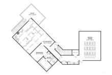 European Floor Plan - Upper Floor Plan Plan #17-3347