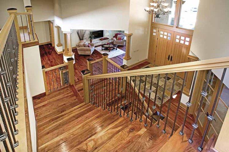 Contemporary Interior - Entry Plan #951-2 - Houseplans.com