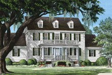 Farmhouse Exterior - Front Elevation Plan #137-166