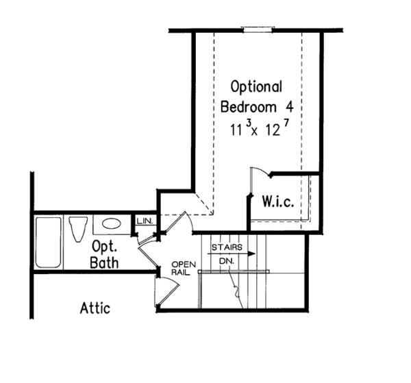 Country Floor Plan - Other Floor Plan Plan #927-722