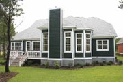 Country Style House Plan - 3 Beds 2.5 Baths 2395 Sq/Ft Plan #927-129 Exterior - Rear Elevation