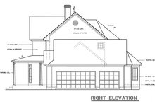 Home Plan Design - Country Exterior - Other Elevation Plan #20-843