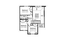 Country Floor Plan - Upper Floor Plan Plan #46-834