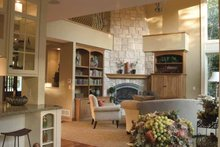 Classical Interior - Family Room Plan #51-657