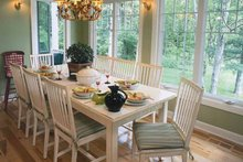 Country Interior - Dining Room Plan #928-47