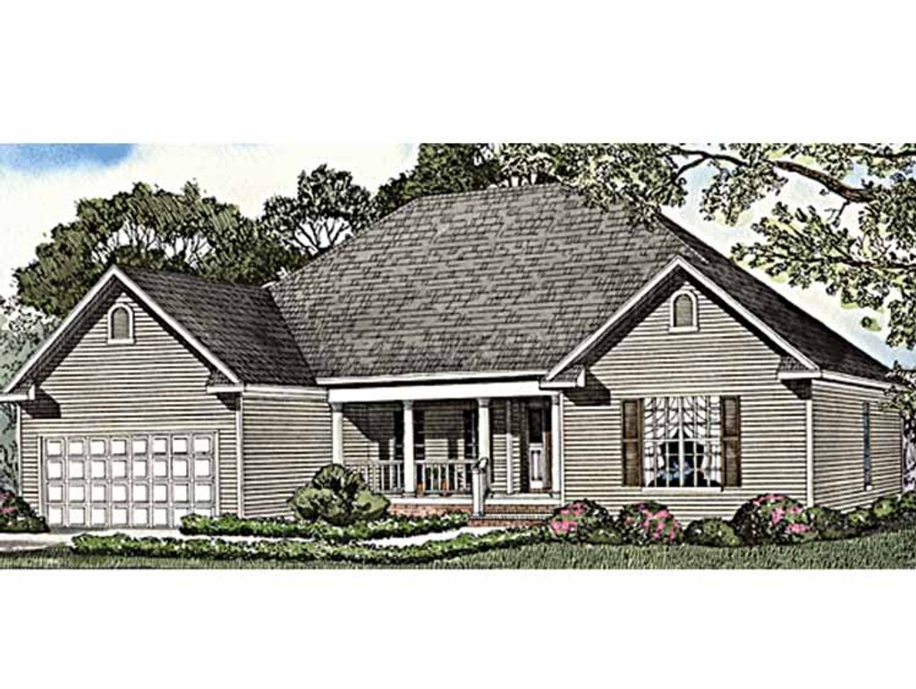 Country Style House Plan 4 Beds 2 Baths 1880 Sq Ft Plan