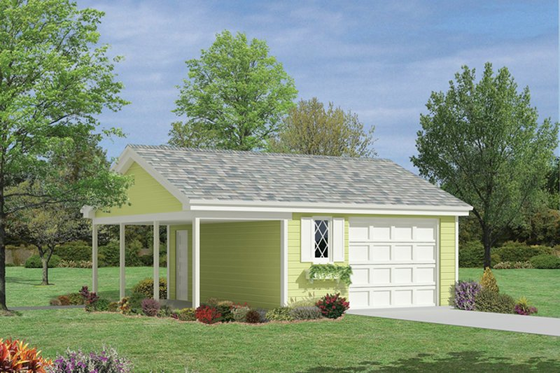 Home Plan - Exterior - Front Elevation Plan #57-629