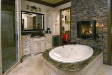 House Design - Country Interior - Master Bathroom Plan #952-276