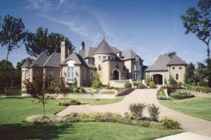 Dream House Plan - European Exterior - Front Elevation Plan #952-208