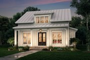 Farmhouse Style House Plan - 2 Beds 2 Baths 1257 Sq/Ft Plan #430-227 Exterior - Front Elevation