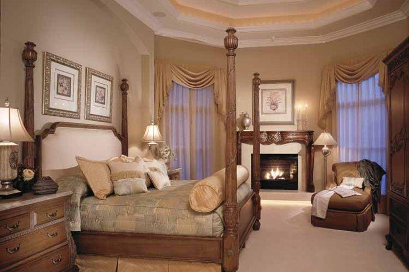 Mediterranean Interior - Master Bedroom Plan #417-557 - Houseplans.com